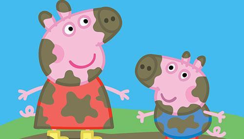 小猪佩奇系列动画中的主角佩奇是一只腼腆可爱而又有些专横的小猪
