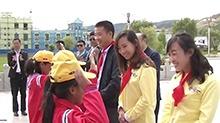 长沙爱心企业向西藏贡嘎捐赠校车