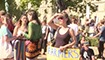 数千伦敦民众游行集会呼吁关注气候变暖问题